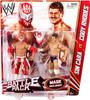 WWE Wrestling Series 23 Sin Cara vs. Cody Rhodes Action Figure 2-Pack [Mask]