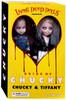 Living Dead Dolls Child's Play Chucky & Tiffany Doll Set