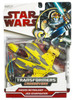 Star Wars The Clone Wars Transformers Crossovers 2009 Anakin Skywalker to Jedi Delta-7 Starfighter Action Figure