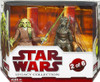 Star Wars Attack of the Clones Legacy Collection 2009 Geonosis Arena Showdown Kit Fisto & Geonosian Warrior Exclusive Action Figure 2-Pack #2 of 6
