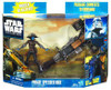 Star Wars The Clone Wars Vehicles & Action Figure Sets 2010 Pirate Speeder Bike with Cad Bane Action Figure Set