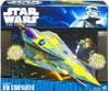 Star Wars The Clone Wars Vehicles 2010 Anakin's Jedi Starfighter Action Figure Vehicle [Delta]