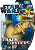 Star Wars The Phantom Menace Transformers 2012 Battle Droid to AAT Action Figure