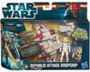 Star Wars The Clone Wars Vehicles & Action Figure Sets 2012 Republic Attack Dropship with Pilot Action Figure Set