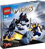 LEGO Vikings Viking Warrior Challenges the Fenris Wolf Set #7015