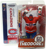 McFarlane Toys NHL Montreal Canadiens Sports Picks Series 10 Jose Theodore Action Figure [Red Jersey]