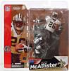 McFarlane Toys NFL New Orleans Saints Sports Picks Series 6 Deuce McAllister Action Figure [White Jersey with Eye Black]