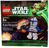 LEGO Star Wars The Clone Wars Clone Trooper Lieutenant Mini Set #5001709 [Bagged]