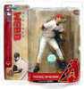 McFarlane Toys MLB Arizona Diamondbacks Sports Picks Series 18 Brandon Webb Action Figure [White Jersey]