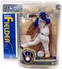 McFarlane Toys MLB Milwaukee Brewers Sports Picks Series 19 Prince Fielder Action Figure [White Jersey]