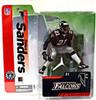 McFarlane Toys NFL Atlanta Falcons Sports Picks Collectors Club Deion Sanders Exclusive Action Figure [Falcons, Black Jersey]