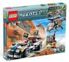 LEGO Agents Mission 5: Turbo Car Chase Set #8634