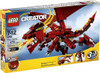 LEGO Creator Fiery Legend Set #6751