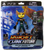 Ratchet and Clank Future Series 1 Ratchet & Transforming Clank Action Figure 2-Pack