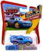 Disney Cars The World of Cars Lenticular Eyes Series 1 Bling Bling Lightning McQueen Diecast Car