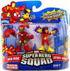 Marvel Super Hero Squad Series 15 Iron Man & Spider-Woman Action Figure 2-Pack