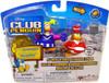Club Penguin Mix 'N Match Series 3 Marching Band & Cheerleader Mini Figure Set