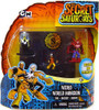 The Secret Saturdays Weird World Mansion Mini Figure 3-Pack
