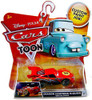 Disney Cars Cars Toon Main Series Dragon Lightning McQueen with Oil Stains Diecast Car #11