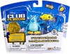 Club Penguin Mix 'N Match Series 8 Blue Dragon with Arch, Mound of Gold & Blue Crystal Mini Figure Set