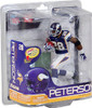McFarlane Toys NFL Minnesota Vikings Sports Picks Series 26 Adrian Peterson Action Figure [Striped Purple Jersey]
