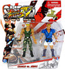 Street Fighter IV Modern Guile Vs. Able Action Figure 2-Pack