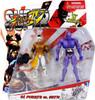 Street Fighter IV Modern El Fuerte Vs. Seth Action Figure 2-Pack