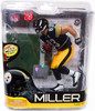 McFarlane Toys NFL Pittsburgh Steelers Sports Picks Series 27 Heath Miller Action Figure [Black Jersey]