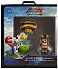 Super Mario Galaxy 2 Bee Mario & Bee Mushroom Figure 2-Pack