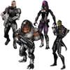 Mass Effect 3 Series 1 Set of 4 Action Figures