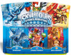 Skylanders Spyro's Adventure Whirlwind, Double Trouble & Drill Sergeant Figure 3-Pack