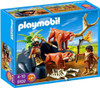 Playmobil Stone Age Saber-Toothed Cat with Cavemen Set #5102
