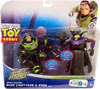 Toy Story To Infinity and Beyond Space Mission Buzz Lightyear & Zurg Exclusive Action Figure 2-Pack