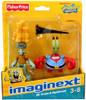 Fisher Price Spongebob Squarepants Imaginext Squidward & Mr. Krabs Exclusive 2-Inch Mini Figure 2-Pack