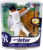 McFarlane Toys MLB New York Yankees Sports Picks Series 31 Derek Jeter Action Figure [Pinstripes Jersey]