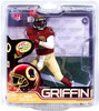 McFarlane Toys NFL Washington Redskins Sports Picks Series 31 Robert Griffin III Exclusive Action Figure [Throwback Jersey]