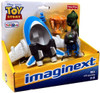 Fisher Price Toy Story Imaginext Rex with Spaceship Exclusive 3-Inch Figure Set