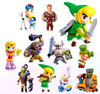 The Legend of Zelda Spirit Tracks 2 Furuta Choco Egg Set of 11 2-Inch PVC Figures