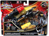 Power Rangers Megaforce Zord Builder Land Brothers Zord and Black Ranger Action Figure Set