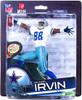 McFarlane Toys NFL Dallas Cowboys Sports Picks Series 33 Michael Irvin Action Figure