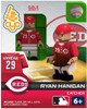 Cincinnati Reds MLB Generation 2 Series 2 Ryan Hanigan Minifigure