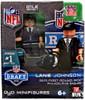Philadelphia Eagles NFL 2013 Draft First Round Picks Lane Johnson Minifigure