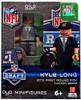 Chicago Bears NFL 2013 Draft First Round Picks Kyle Long Minifigure