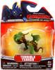 How to Train Your Dragon Dragons Defenders of Berk Terrible Terror 3-Inch Mini Figure