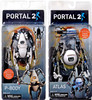 NECA Portal 2 Atlas & P-body Action Figures