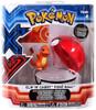 Pokemon Clip n Carry Pokeball Charmander & Poke Ball Figure Set