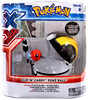 Pokemon Clip n Carry Pokeball Fletchling Figure & Ultra Ball Figure Set