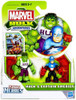 Marvel Playskool Heroes Hulk Adventures Hulk & Captain America Exclusive Action Figure Set