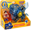 Fisher Price DC Super Friends Justice League Imaginext Wonder Woman & Invisible Jet Exclusive 3-Inch Figure Set