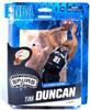 McFarlane Toys NBA San Antonio Spurs Sports Picks Series 24 Tim Duncan Action Figure [Black Jersey]